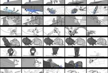 StoryBoard & Animatic References for Story Artists