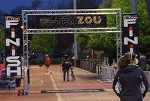 Event finish line design