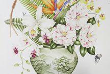 花瓶 插花