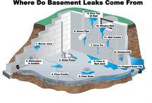 Basement leaking