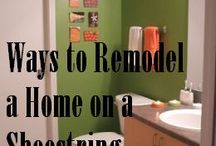 Renovating in a budget
