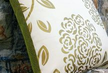 M design - cushions / decorations for house