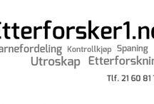 Etterforsker1 eller «Investigator1» / Etterforsker1 eller «Investigator1», er et varemerke for en norsk selskap som leverer etterforskning tjenester til forbrukere og bedrifter. Medlemmer av våre ansatte er høyt kvalifiserte etterforskere og spesialiserer vi i teknologi.