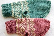 knitting dog sweaters