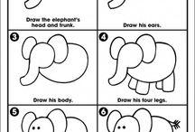 tekeningen handletterren