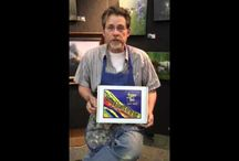 Paint This with Jerry Yarnell™ Painting & Drawing Kit for Kids / This board showcases Kit for Kids: a fine-art painting and drawing instructional package -- materials that Jerry Yarnell has carefully selected and created for your young artist!