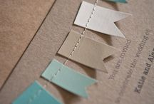 Paper cards / invitations & packages & favours