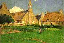 Eugène-Henri-Paul Gauguin (1848 - 1903) Pintor francês / Pós-impressionismo.