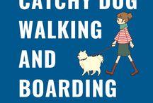 Dog Walking and Boarding Slogans