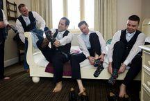Here come the boys (wedding gentlemen)