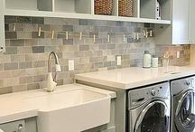 Inspiration -Laundry Rooms