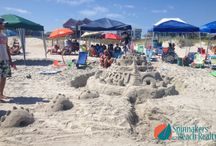 Sandcastle Ideas / Our weekly Sandcastle contest here at Spinnaker's Reach! What a fun time for our guests!