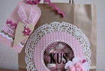 Bolsas decoradas para regalos