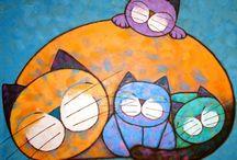 cats / by maria eloisa ramirez