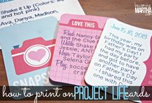 Project Life / Scrapbooking / by Ashly Lagneaux