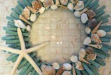 Deniz kabuğuyla yapılan el işleri