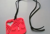 Polypop Acrylic Necklaces