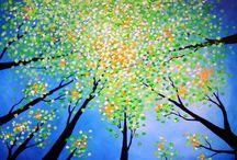 spring paintings