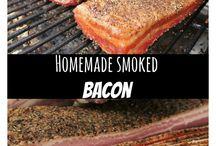 Home smoked bacon