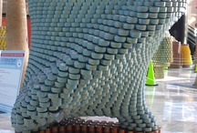 Canstruction Abstract Work