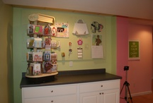 Craft Rooms, Creative Spaces & Home Offices / Great ideas for design and storage. / by Robin Mundy