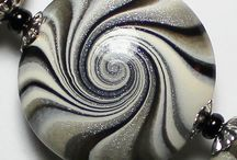Swirl polymer clay