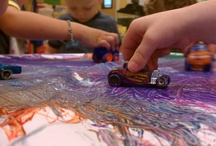 Preschool Art: process, not product! / Preschool art should value process over product. This board has open-ended art activities that almost never end up looking crafty. / by Play-Based Classroom (Gina)