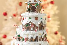 The Orchard: Christmas Cake Design Ideas: Shabby Chic Vintage