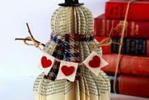 Gamle bøker jul