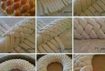 kynuté pletené těsta