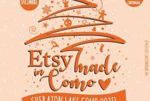 Etsy made Como 2017 / Idee, materiale e creatività per Etsy made Como 2017