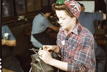 Working Women 1940's / Ideas for working women in the 1940s