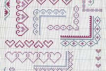 Cross Stitch ~ Borders