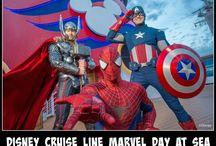 Marvel and Disney!