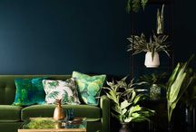 Dark Green - Interior Design Trend 2017 / Dark green is predicted to be the colour of 2017, so here's some inspiration!