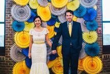 Photocalls & Backdrops - Décors muraux / Idées & inspirations autour de décors muraux pour photoshoots & sweettables