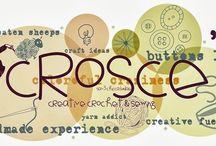 Croscé - Creative crochet & Sewing - Uncinetto e cucito creativo