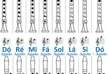 Flauta Transversal e Flauta Doce
