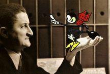 Ondřej Sekora / Ondřej Sekora byl výrazný český spisovatel, žurnalista, kreslíř, grafik, ilustrátor, karikaturista a entomolog, od roku 1964 nositel titulu zasloužilý umělec. Spolupracoval s rozhlasem, televizí, filmem i divadlem. Psal a ilustroval hlavně knihy pro děti. Vytvořil do značné míry autobiografickou figurku Ferdy Mravence, stejně známý je i Brouk Pytlík. Sekorovy příběhy spojují zábavnost s poučností a mravním ponaučením. Jeho ilustrace byly blízké stylu animovaného filmu.