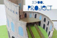 Roman school project