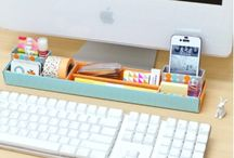 Decorate Your Work Space! / Arrange your desk in a way that is organized, yet fashionable! Decorating your work space is a unique way to show your personality in the office.