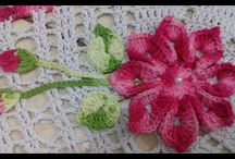Crochet - Flowers -video!