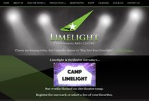 Limelight Performing Arts Center | Web Project / This project was worked for a Channel Partner in the US.  A  Responsive Wordpress project developed by Urbansoft.