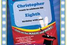 "Birthday Party Ideas - Magic Theme / Create the perfect ""magic"" themed birthday party for your child!"