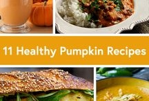 Carve Out a Pumpkin Treat / Pumpkins are not just for decoration, there are many healthy recipes to enjoy this fall.  / by Blue Cross and Blue Shield of Louisiana