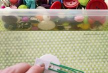 Button Crafts / by Margie Mellon
