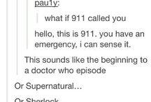 Superwholock / Supernatural, Doctor Who, & Sherlock