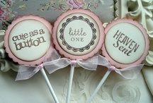 Baby Shower Ideas | Pink and Ivory