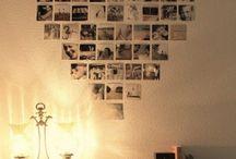 Fényképek a falon
