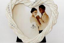 Ramki w kształcie serce / Piękny prezent na Walentynki!